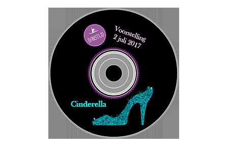 DVD Danstijd voorstelling Cinderella